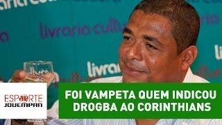Foi Vampeta quem indicou Drogba ao Corinthians
