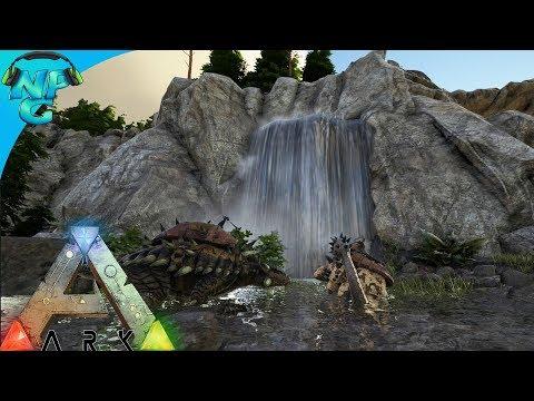 World War ARK - 2 Men 1 Base Raid the Hidden Waterfall Cave on Ragnarok! E2 ARK Survival Evolved