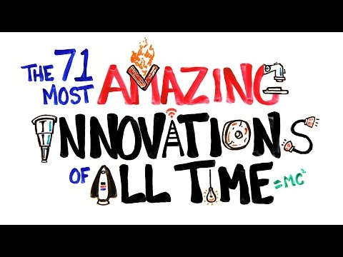 The 71 Most AMAZING Innovations of All Time