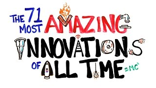 Repeat youtube video The 71 Most AMAZING Innovations of All Time