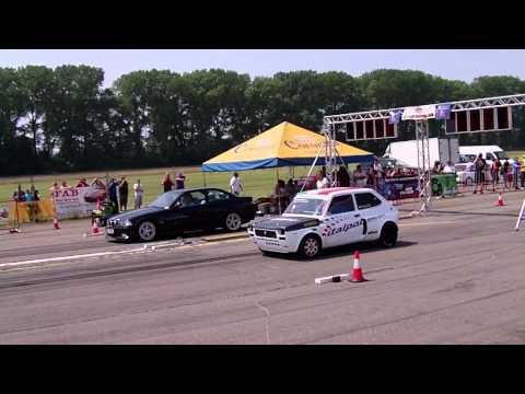 Fiat 127 Luigi Vs BMW - Power Fest Letisko...