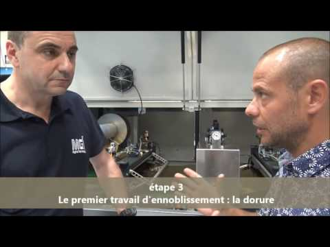 Comment ennoblir un papier de création ? La solution JETVarnish 3D de MGI