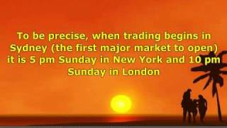 Forex Trading Hours: Session Times, Open And Close