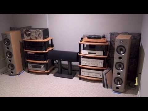 Audio:  A Demo and Overview of my Stereo System (Vinyl)