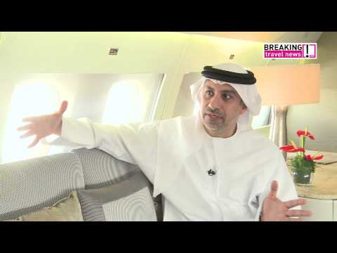 TravelWise with Phil Blizzard on board the Emirates Executive A319