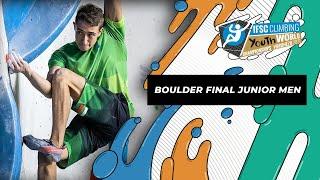 IFSC Youth World Championships Voronezh 2021    Boulder final J men