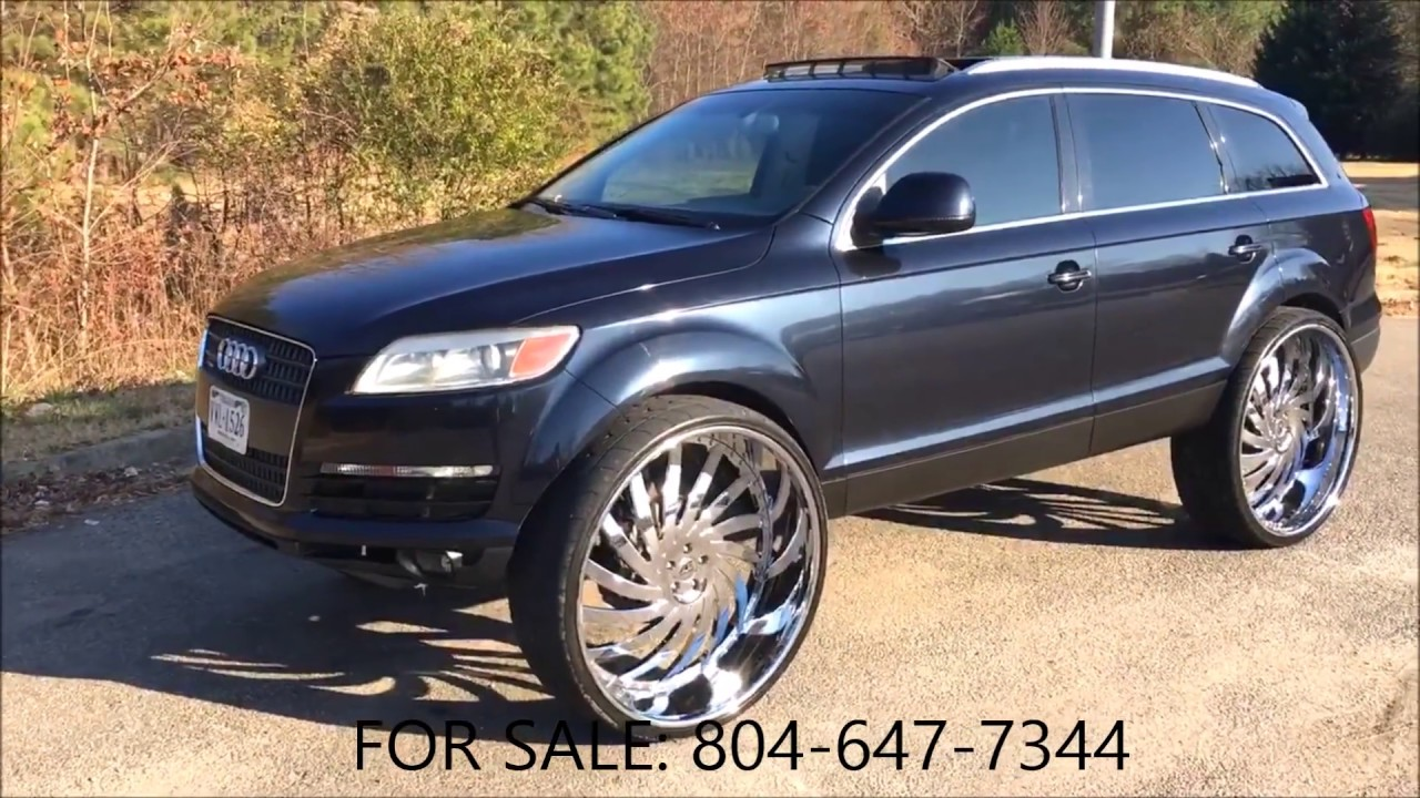 acewhips net for sale audi q7 on 32 s amani forged youtube. Black Bedroom Furniture Sets. Home Design Ideas