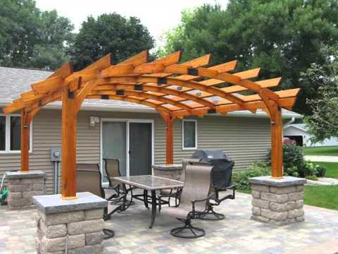 pergola design collection pergola ideas youtube. Black Bedroom Furniture Sets. Home Design Ideas