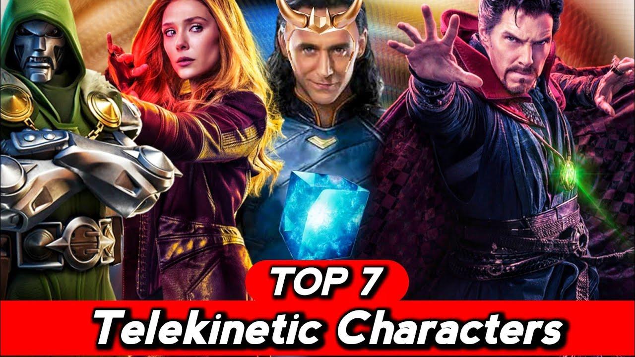 Top 7 Telekinesis Superheroes and Supervillans Explained in Hindi (SUPERBATTLE)