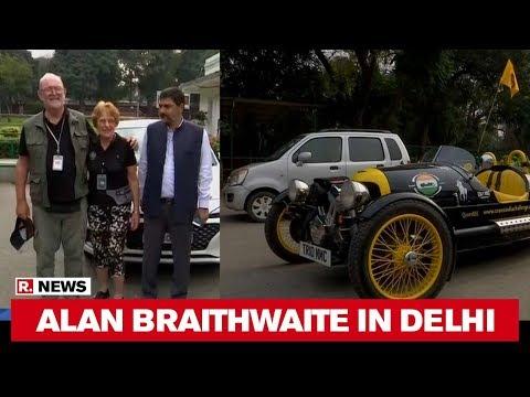 British Philanthropist And Adventurer Alan Braithwaite Visit