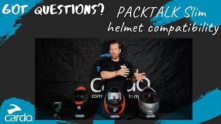 Learn about PACKTALK Slim helmet compatibility