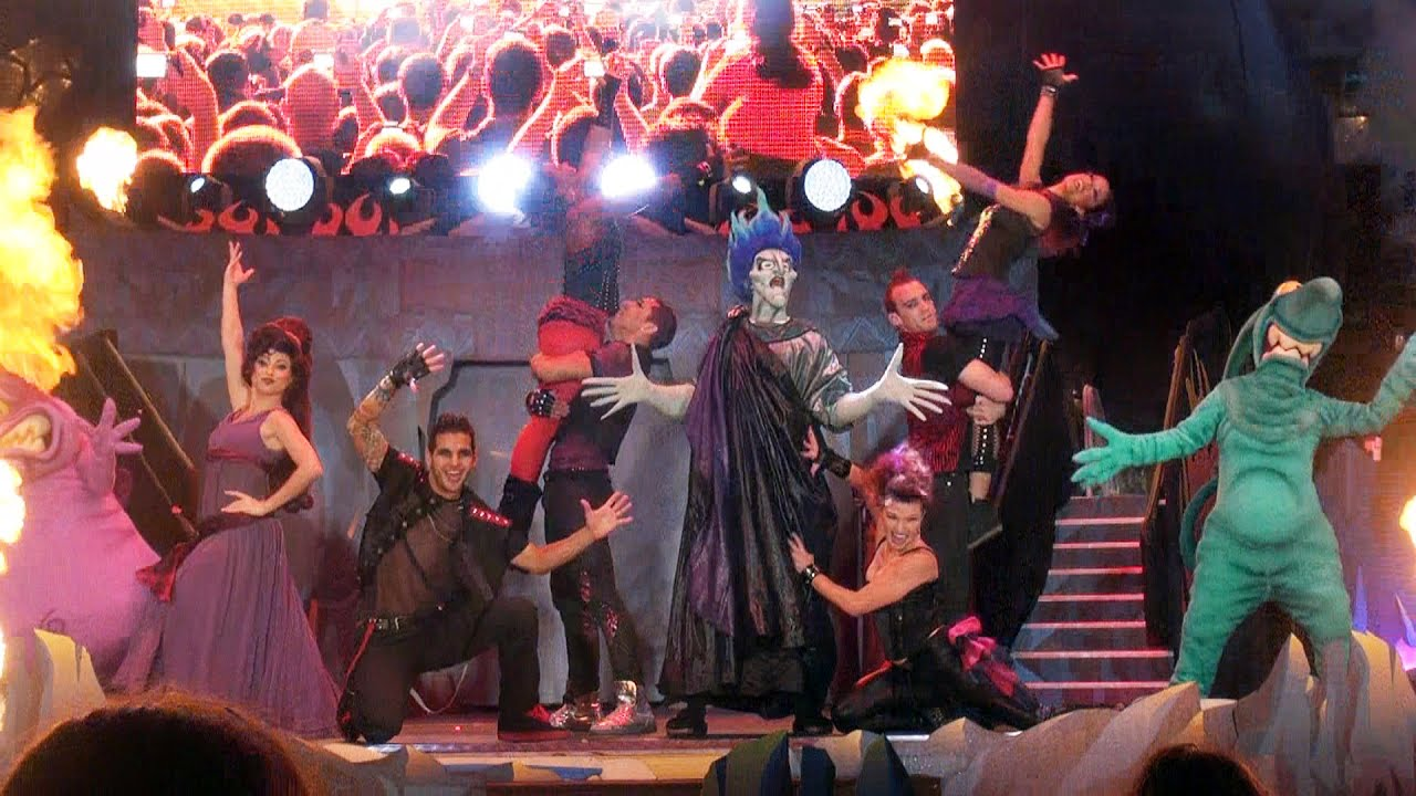 Disneys Atlantis The Villains: Hades Unleashes 50 Disney Villains