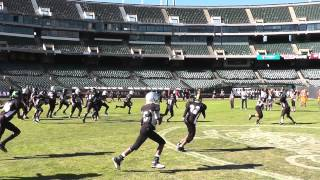 CV RAIDERS @ OAKLAND COLISEUM - ZAIRE TD RUN