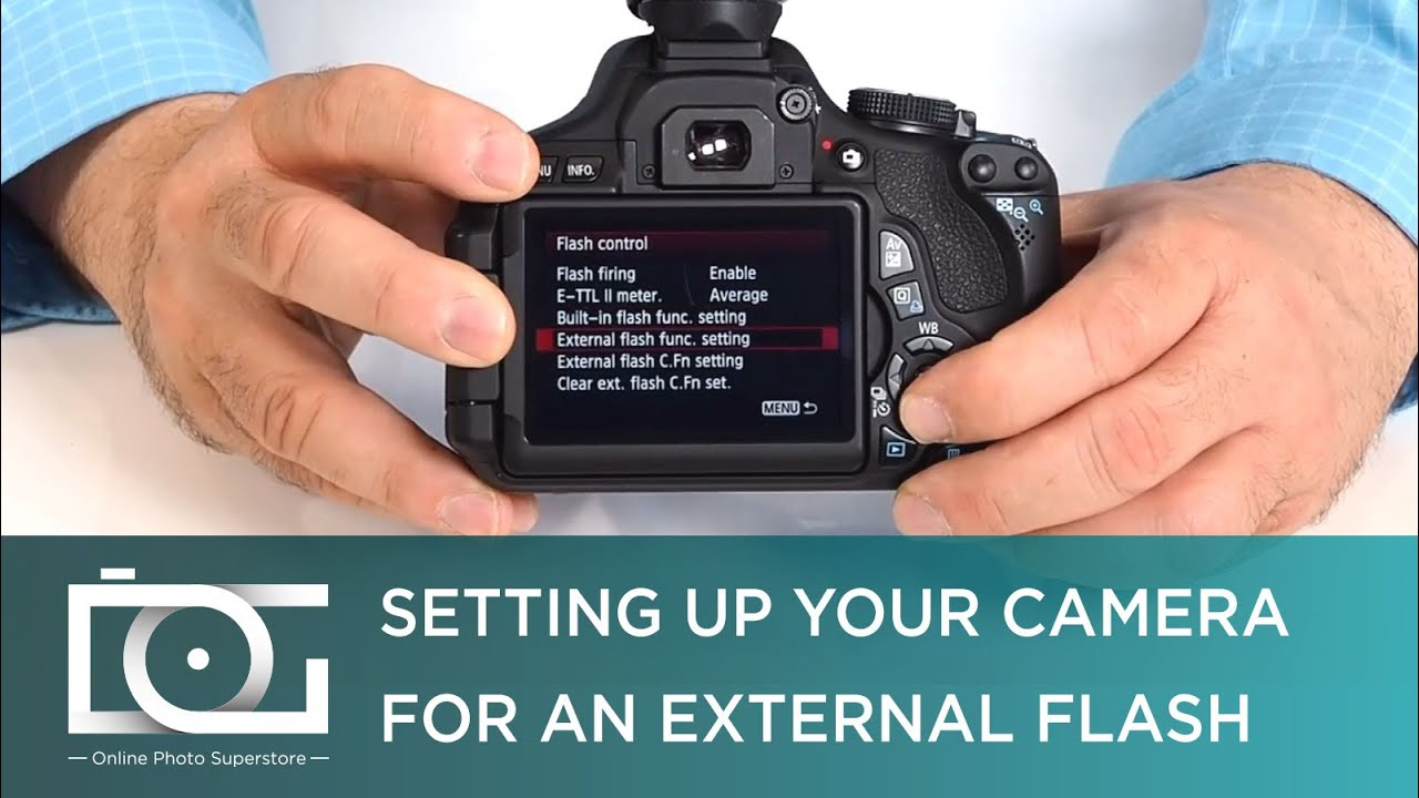 tutorial camera set up for external speedlite flashes for canon rh youtube com Canon T3i Manual Mode Canon T2i Manual