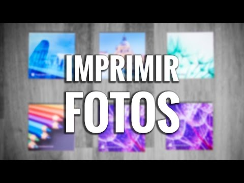 Cómo y dónde IMPRIMIR FOTOS