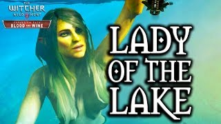 The Witcher 3: Blood and Wine - Lady of the Lake Cameo