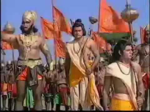 श्री राम जी की सेना चली