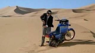 Yamaha Tenere 600 3AJ, movie  Les 1001 nuits