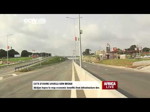 Cote D'ivoire Unveils New Bridge