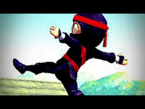 Playing Clumsy Ninja (Funny Moments)