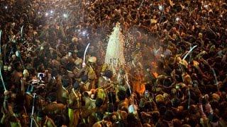 Bangalore Karaga (ಬೆಂಗಳೂರು ಕರಗ) : huge crowd of devotees