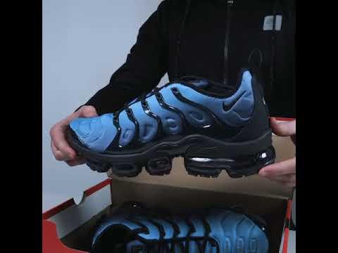 a3c15f7c3de1f Nike Air VaporMax Plus 2018 - BLUE - YouTube