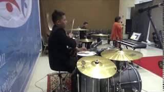 Download Video Mengalirlah Kuasa Roh Kudus (Drum Cover) MP3 3GP MP4