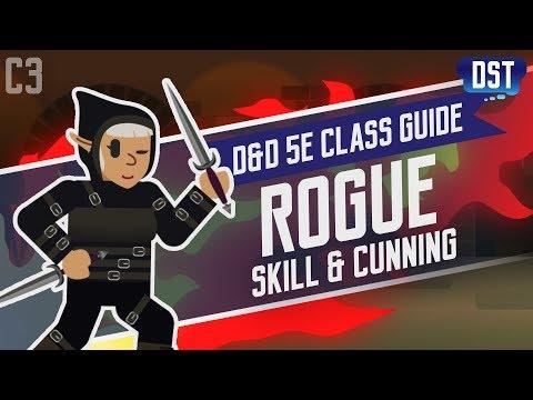 D&D 5e Rogue Class Guide ~ Stop Stealing Your Party Member's Stuff
