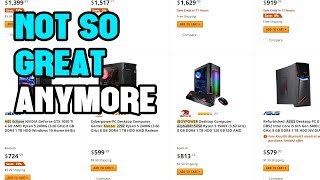 Building Your Own PC is [Again] a Better Value than Buying a Prebuilt PC