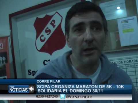 MARATON SOLIDARIA EL DOMINGO EN PILAR