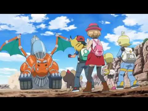 Pokemon XYZ Episode 4 - Un rite de passage flamboyant