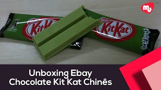 Unboxing Ebay - Chocolate KitKat Chinês De Chá Verde