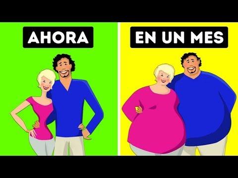 Los científicos demuestran que las parejas que se aman ganan peso