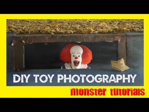 DIY Horror Collectible Photography - Pennywise (IT) Storm Drain Scene thumbnail