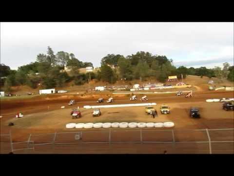 Sprintcars @ Placerville Speedway  6 11 16 part 1