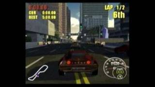 Supercar Street Challenge PlayStation 2 Gameplay