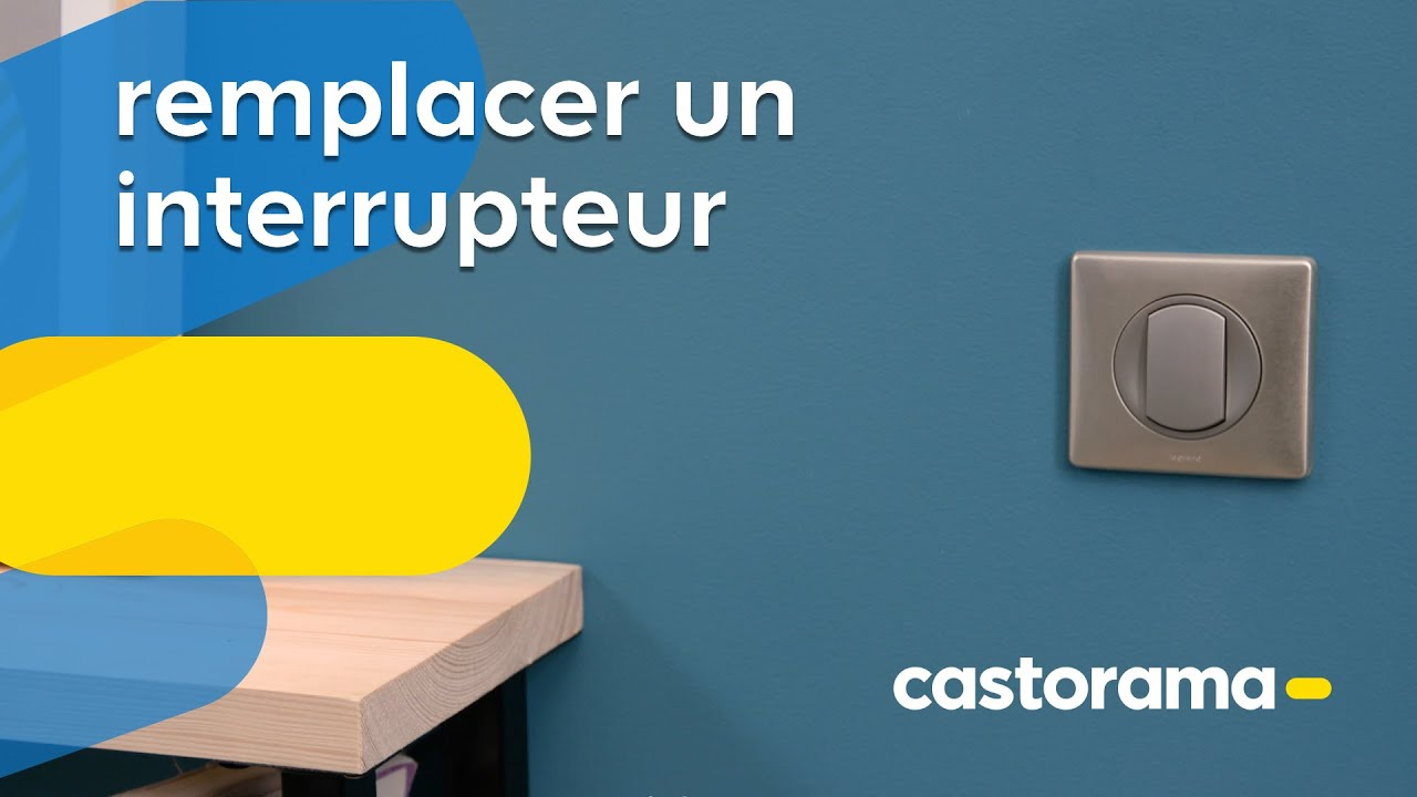 Comment changer un interrupteur ? (Castorama) - YouTube