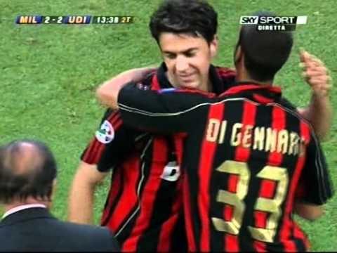 Addio al calcio- Milan-Udinese Costacurta substitution Season 2006-07.avi