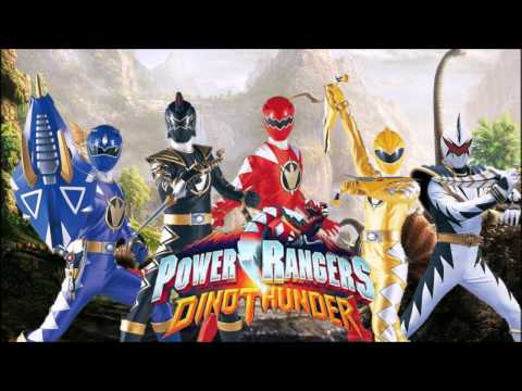 Power Rangers Dino Thunder Full Team (Fan Art)
