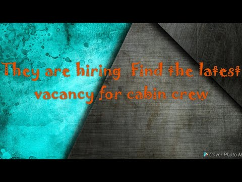 Cabin Crew Vacancy - Job search in domestic and international airlines