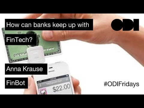 Friday Lunchtime Lecture: How can banks keep up with FinTech? ODI Member show-and-tell