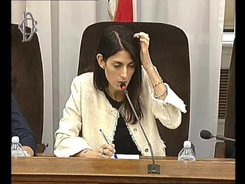 Roma - Audizione Raggi e Muraro (05.09.16)