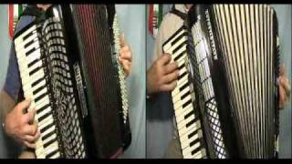 """BISCAYA"" James Last - accordion duet in stereo"