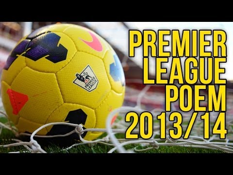 Premier League Poem 2013/14