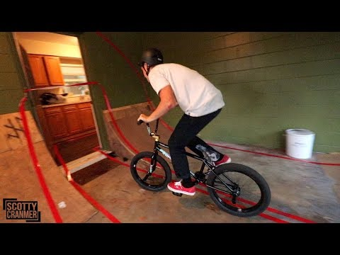 BMX OBSTACLE COURSE THROUGH A HOUSE!