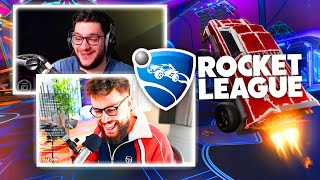 FUURY PÈTE un CÂBLE en 2v2 ! LEBOUSEUH ULTRA CHANCEUX en RANKED ! (BEST OF ROCKET LEAGUE FR)