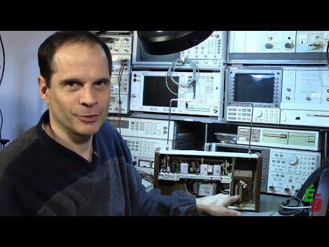 EB_#64 Restoration Radio Philips à Transistors, p2. Mise En Marche et Nettoyage