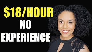 Work From Home Jobs Without Experience (2020)