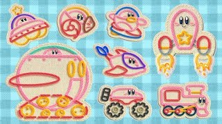 Kirby's Epic Yarn - All Transformations