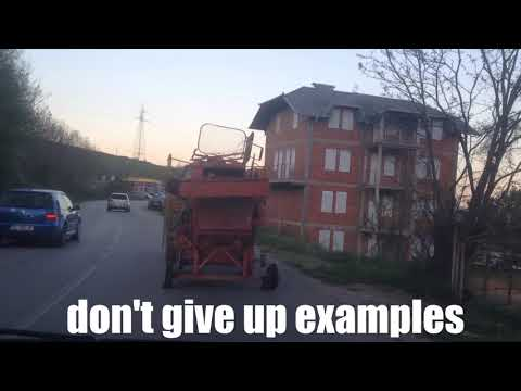 don't give up examples